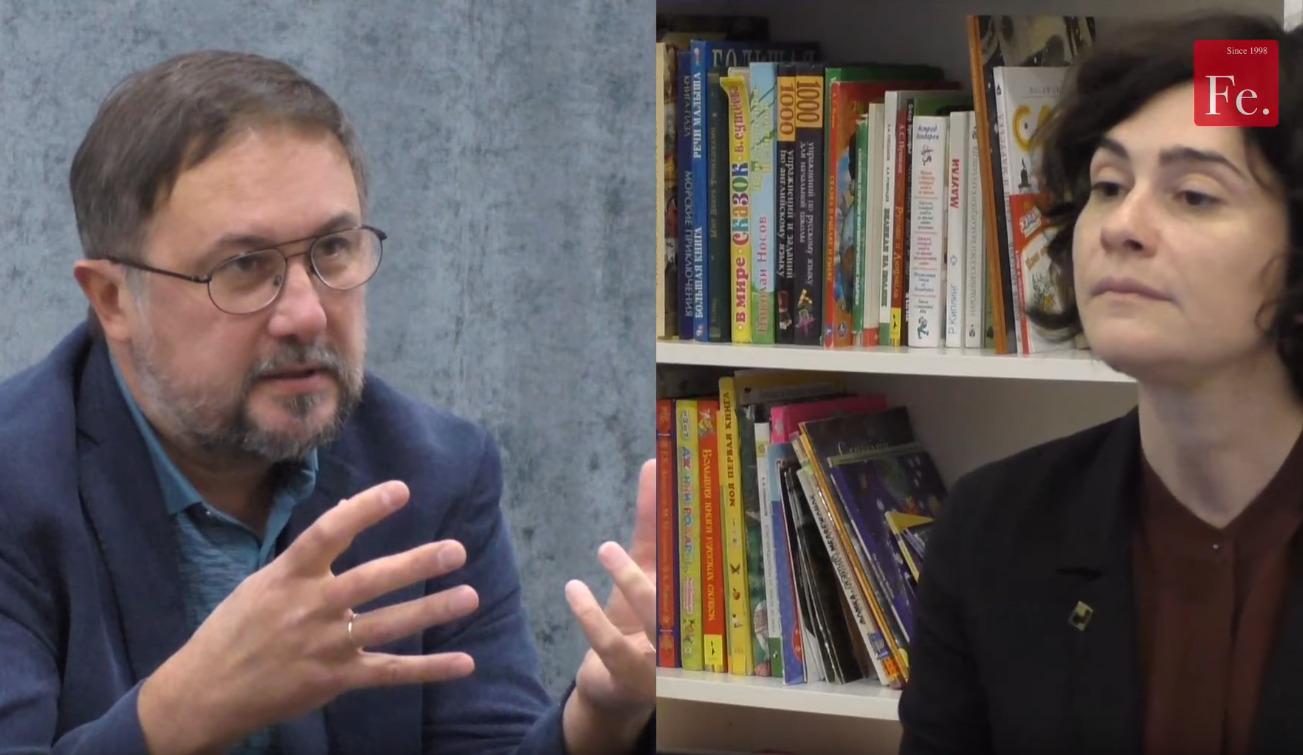 Онлайн трансляция интервью: Главный редактор «Ферганы» задает вопросы гендиректору бюро Strelka Architects Дарье Парамоновой