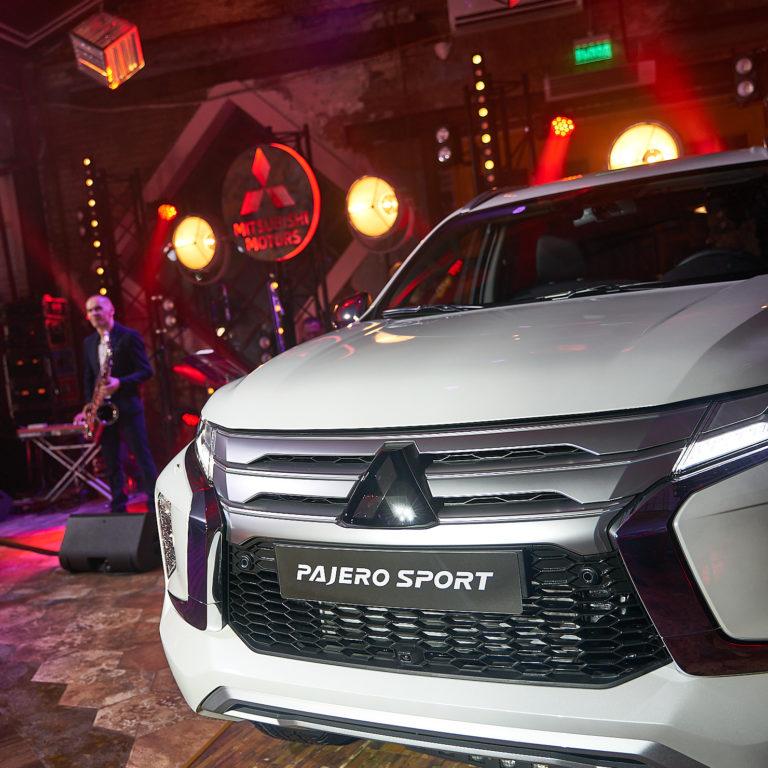 Презентация нового Mitsubishi Pajero Sport 2021